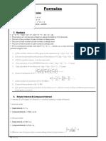 Formulas PDF