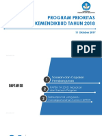 Program_Perioritas Kemendikbud Tahun 2018