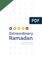 Jurnal Extraordinary Ramadan1439-1