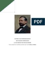 Alfonso XIII Desenmascarado -Blasco Ibañez