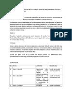 Ajustes Proyecto Gobierno Escolar%2c Las Caras