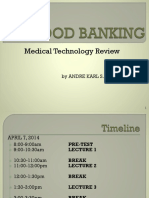 Blood Banking Review