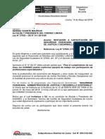 Plan de Capacitacion de Seguridad Ciudadana Distrito de Lincha Yauyos