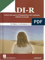 Manual ADI R