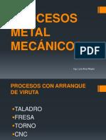 Procesos Metal Mecánicos