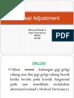 Oklusal Adjustment
