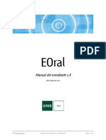 EOral - Manual Del Estudiante
