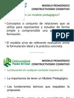 Modelos Pedag. Facultad Educacion