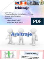 Diapositivas de arbitraje