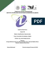 Reporte de Practica 5. Convertidor de Analogico a Digital