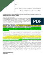 Vidos SP ODM y ODS Extractos. Plataform 2018-I Docx (1)