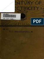 A Century of Electricity 1888 by Mendenhall, Thomas Corwin