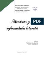Accidentes y/o Enfermedades Laborales
