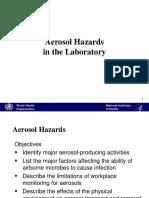 Aerosol Hazards