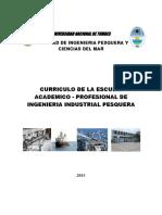 Plan de Estudios - Ing. Industrial Pesquera