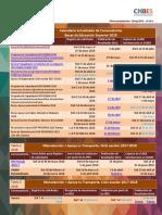 Calendario de becas actualizado SEP