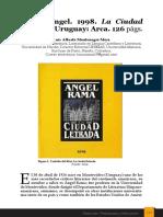 Reseña Ciudad Letrada