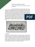 Partes Fundamentales de Un Motor de Gasolina
