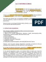 Tema 2 Historia Clinica (Mejorado)