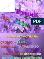 ( Espiritismo) - Curso de Cromoterapia - LILAS