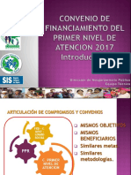 CONVENIO DE FINANCIAMIENTO DEL PRIMER NIVEL 2017 INTRODUCCION .pptx