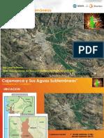 Cajamarca y Sus Aguas Subterráneas MWH-STANTEC - PhD Jose Bolzicco