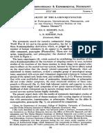 1951 - Schmidt, Schmidt - Neurotoxicity of the 8-Aminoquinolines. III. the Effects of Pentaquine, Isopentaquine, Primaquine, And Pamaqui
