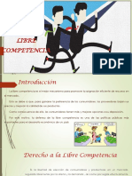 D°. Libre Competencia
