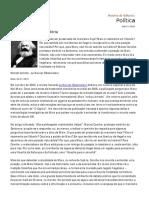 Carta Maior. Marx - Naturalismo e História