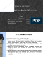Strategi Multi Bisnis