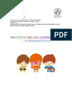 Proyecto de los superhéroes y superheroínas