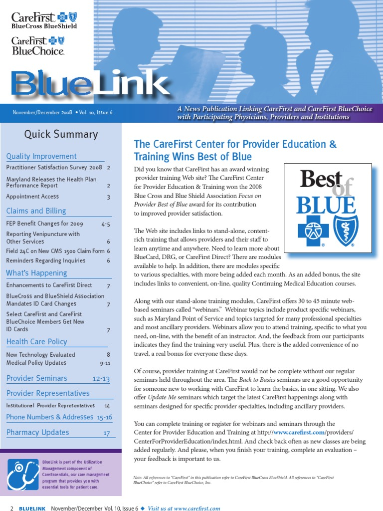 Bluelink Letter Specialty Medicine Blue Cross Blue Shield