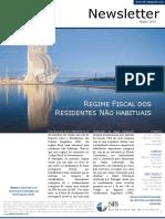 Regime Fiscal Dos Residentes Não Habituais