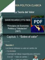 Teoria Del Valor de David Ricardo