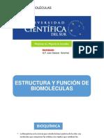 Unidad 1 Bioquímica I