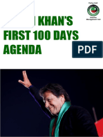 100 Days Agenda of PTI Govt