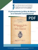 Pensamiento_jurídico_de México en El Derecho Constitucional