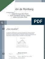 Integración de Romberg