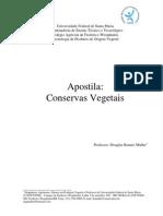 Apostila de Tecnologia de Produtos de Origem Vegetal (Conservas Vegetais)