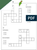 9Crucigramas Matemáticos