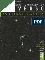 Enciclopédia Ilustrada Do Universo - As Constelações. Volume 4