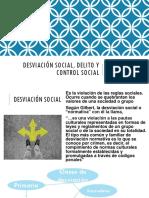 PPT-Desviación Social, Delito y Control Social