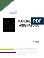 Cálculo Diferencial e Integral_ing Mecatronica