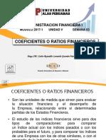 Semana 3 - Coeficientes Financieros