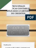 Exposicion Politicas Contables Cartera
