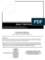 Adult Trike Manual 2016-Eml