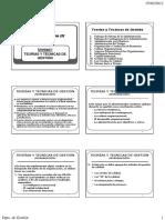 Tecnicas y organizacion de metodos