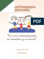 Manual Pedagogic o Educa Paz