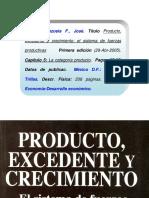 Valenzuela F Jose Producto Excedente y Crecimiento Cap 5 La Categoria Producto