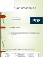 School as an Organization - Socio(1)